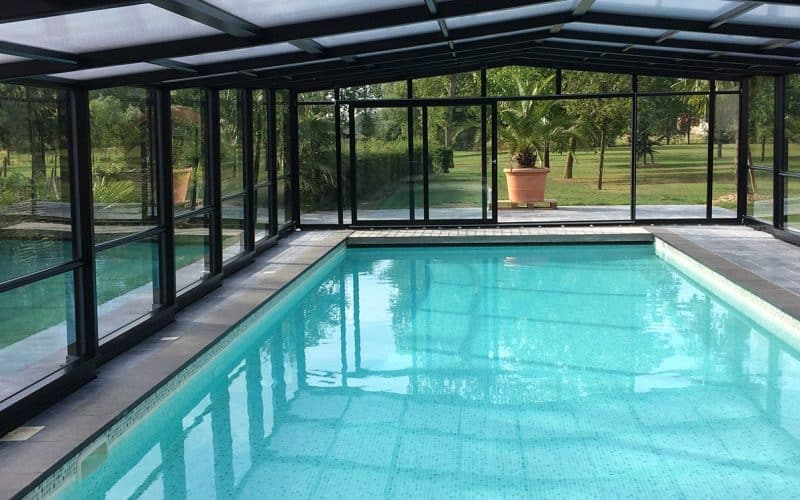 Abri de piscine haut Maestro