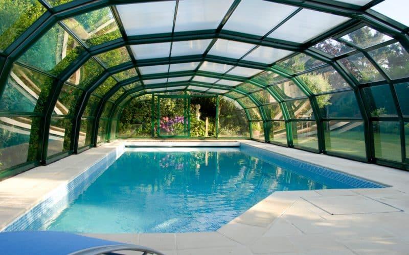 Abri de piscine Haut Ondine
