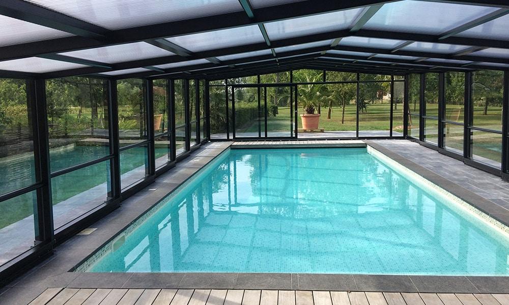 Abri de piscine adossé Union - Robecq (62)
