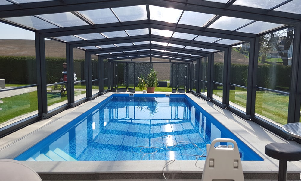 Abri de piscine haut Maestro - Lille (59)
