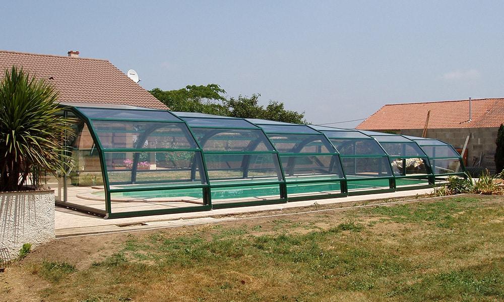 Abri de piscine mi-haut Ondine - Monségur (64)