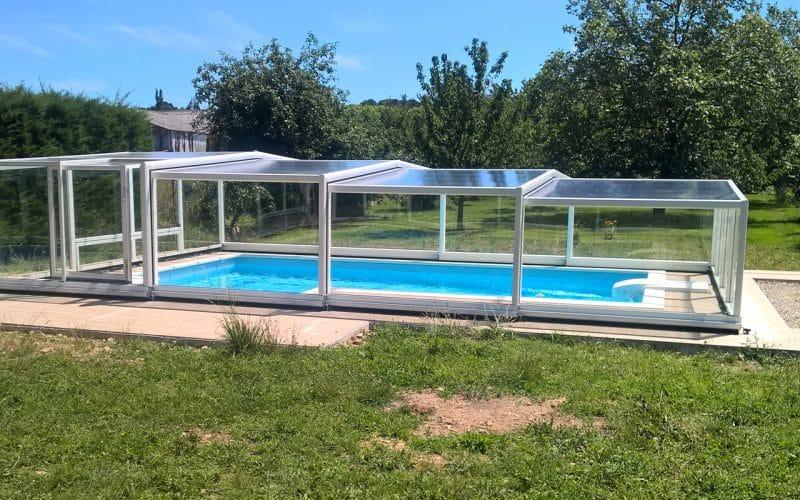 abri de piscine mi haut abris piscine semi hauts. Black Bedroom Furniture Sets. Home Design Ideas