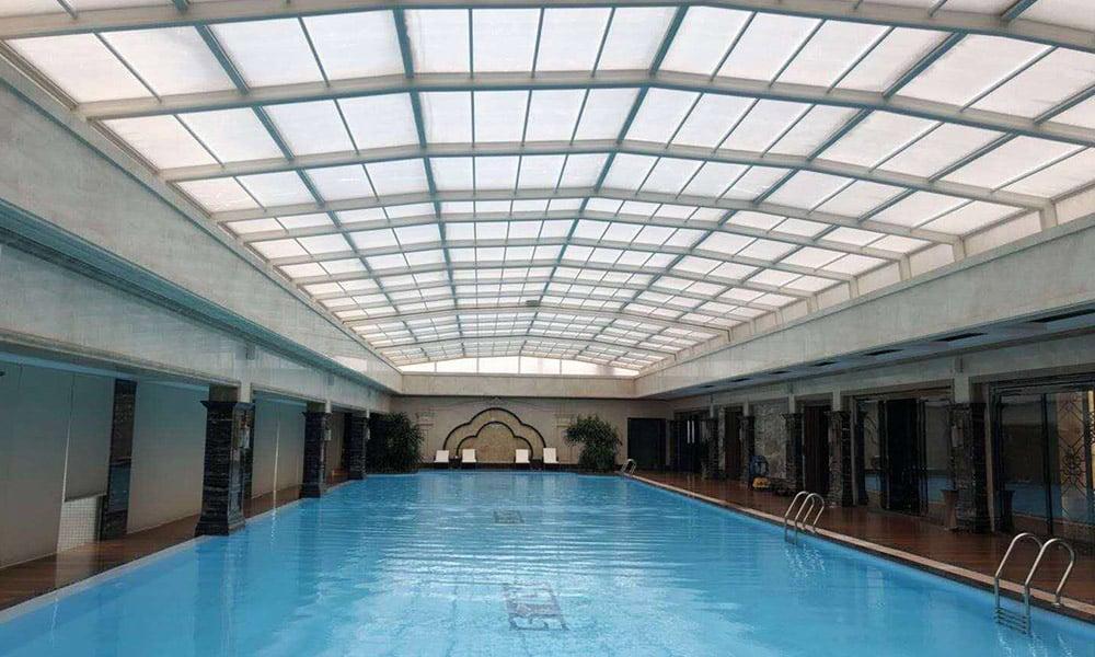 Abri de piscine Toiture - Abri toiture 02, Chine