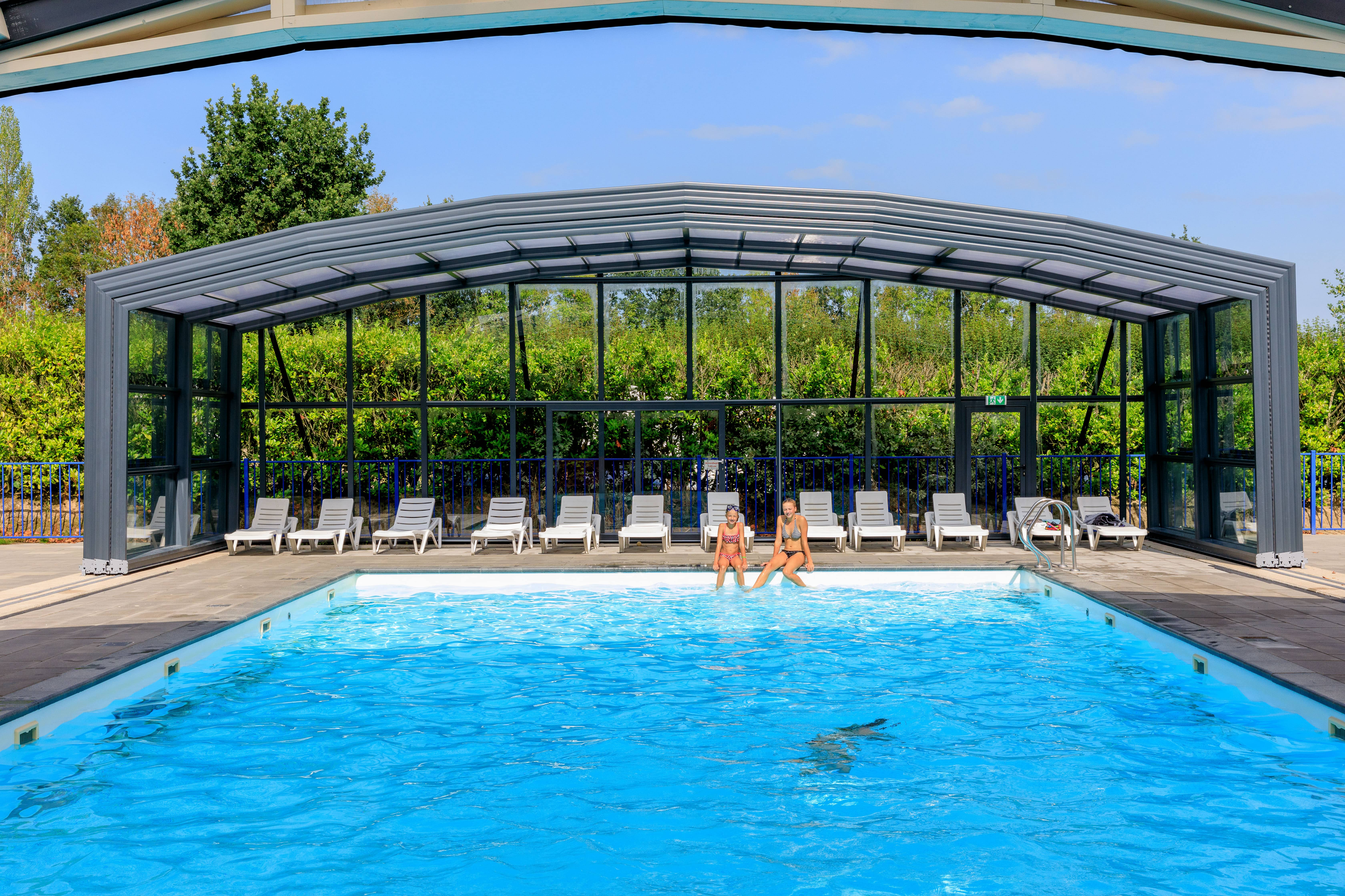 Abri de piscine Collectivités - Vollenhove, Pays-Bas