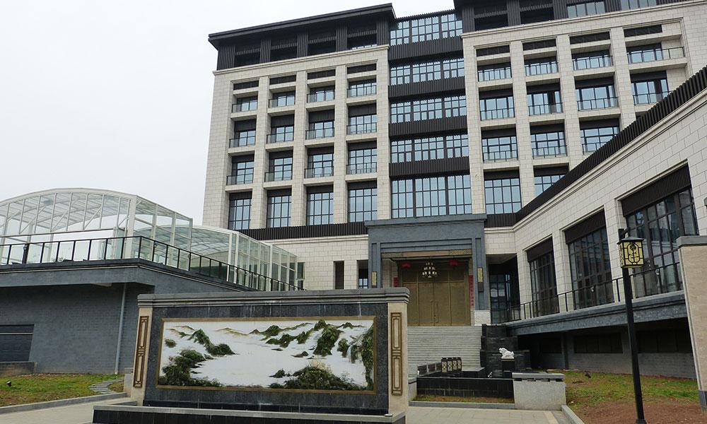 Abris de Piscine Professionnels - Hôtel, Chine