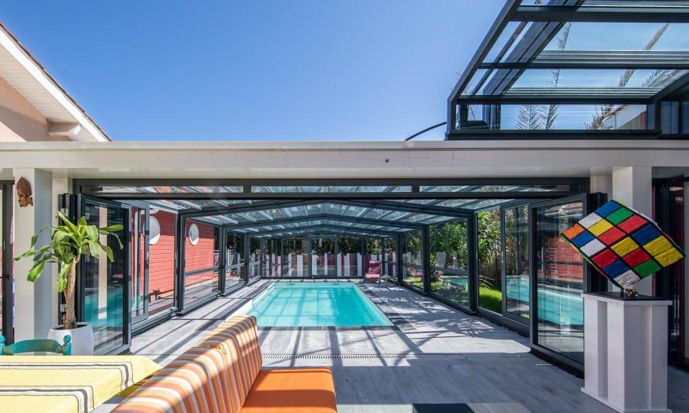 Abri de piscine haut Maestro - Soulac sur mer, France