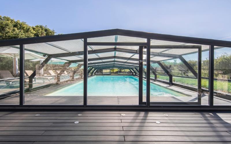 Abri piscine Collectivités